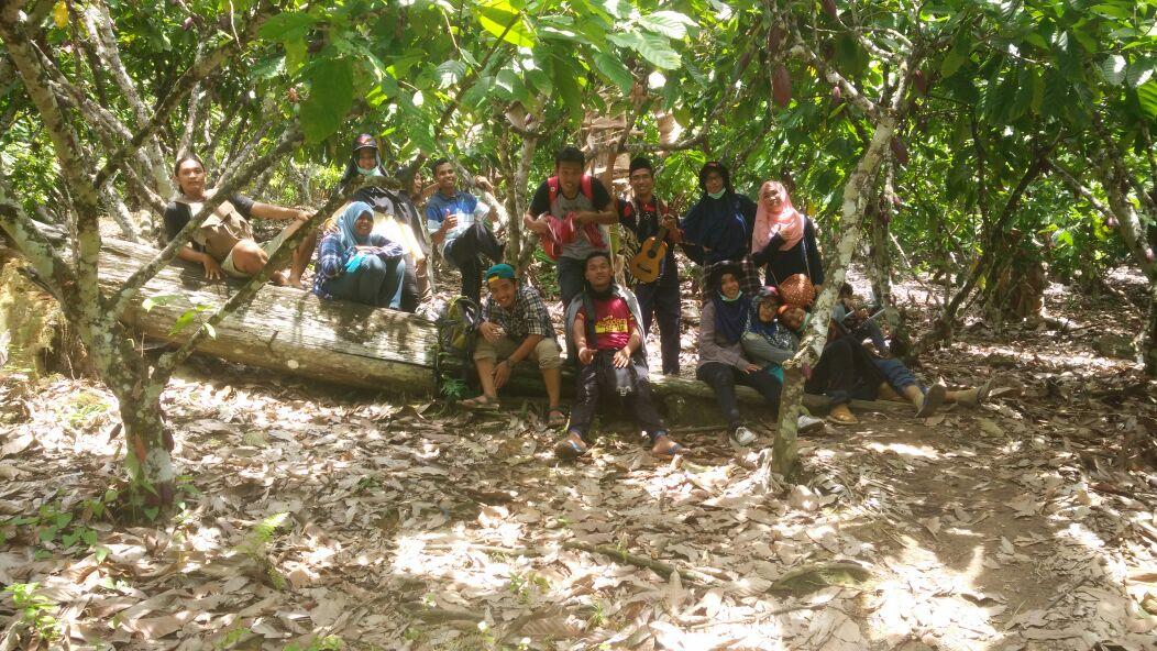 Kebun Coklat menuju daratan Sebatik Malaysia