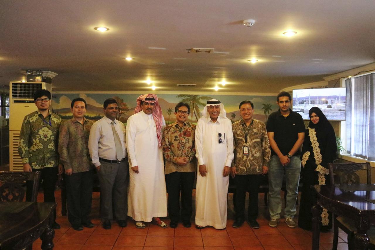 Jajaran KBRI Jeddah bersama awak Media Arab Saudi