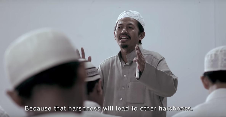 Suasana Ustadz sedang Mengajar di Pesantren Dalwa I Foto: Film Da'wah