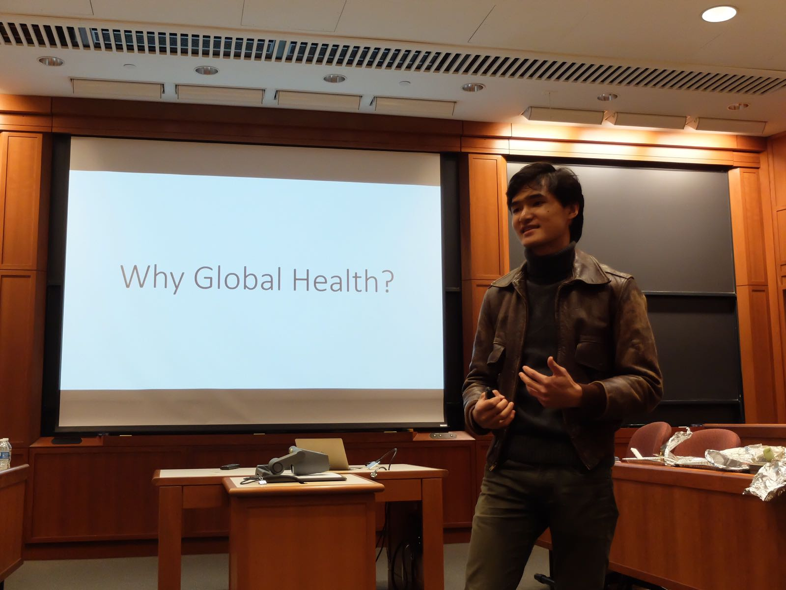 Amadeus Driando Ahnan di Harvard Business School I Foto: KBRI Washington D.Cc