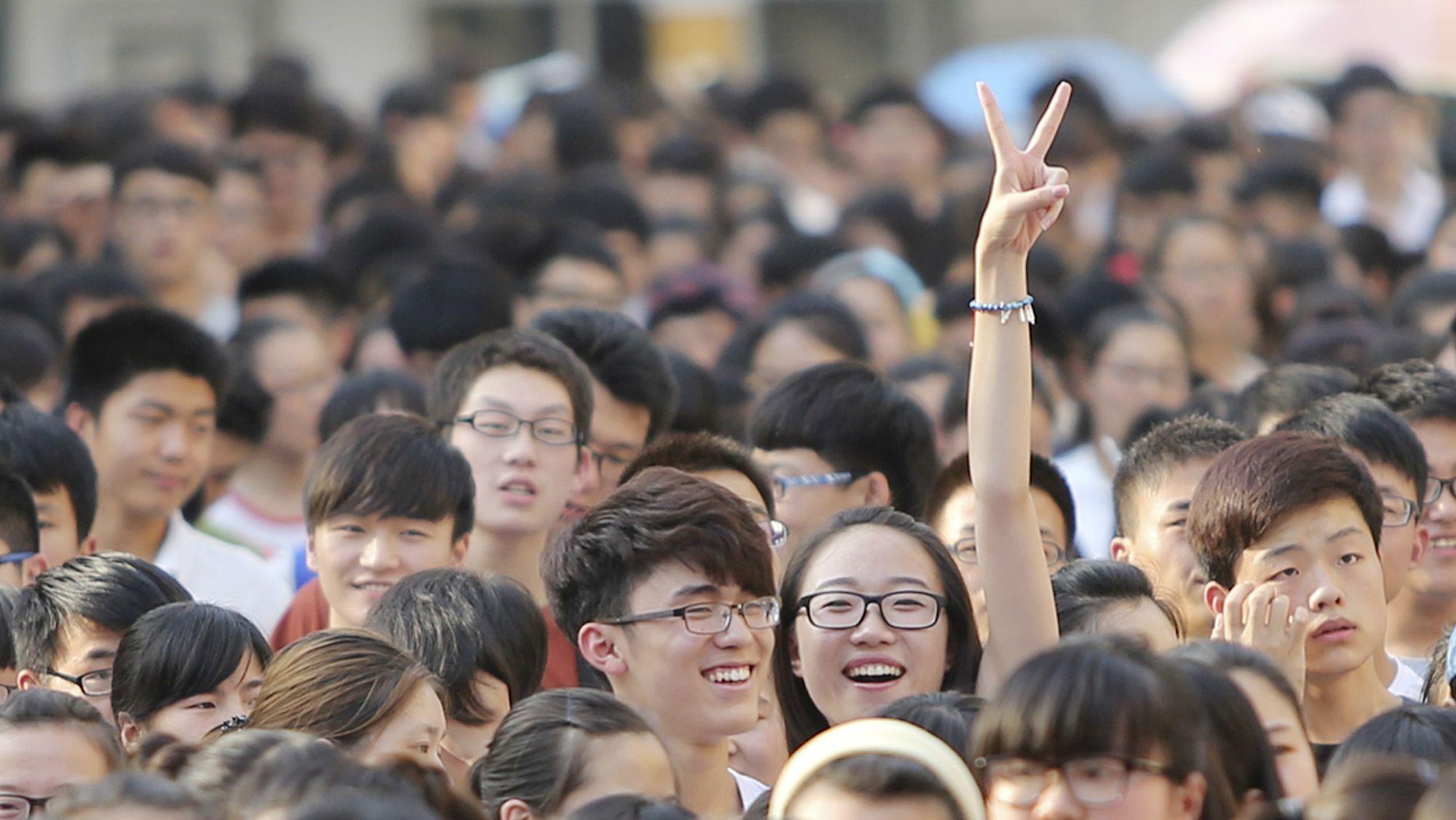 Generasi Muda Tiongkok I Foto: qz.com