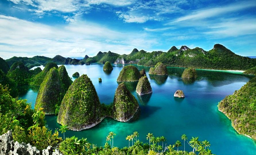 Berkat keindahan alam Indonesia membuat dunia memberikan gelar Surga Dunia