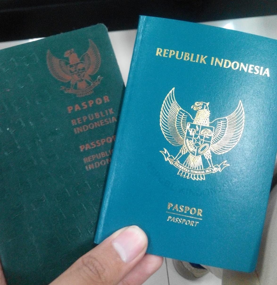 warna sampul paspor Indonesia. foto: blogspot