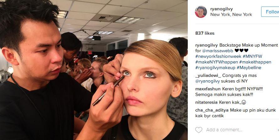 ryan merias model untuk marissa webb. foto: Instagram Ryan Ogilvy