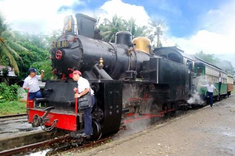 Kereta Api yang dulu digunakan sebagai alat trasportasi pengangkut batu bara | Sumber portal.sawahlunto.go.id