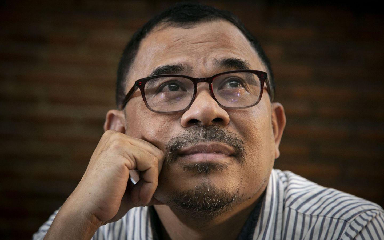 Garin Nugroho, sutradara sekaligus penulis film Kucumbu Tubuh Indahku | Sumber media.beritaga.id