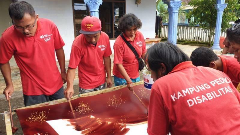Kampung Peduli Disabilitas Blitar | Foto : cekstok.com