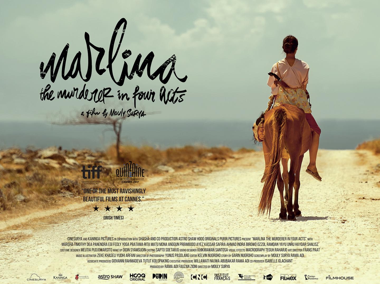Poster Film Marlina si Pembunuh Empat Babak   Foto : Windows on Worlds