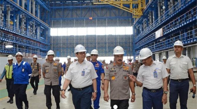 Kunjungan POLRI di PT PAL Indonesia Persero | Foto : https://lancerdefense.com