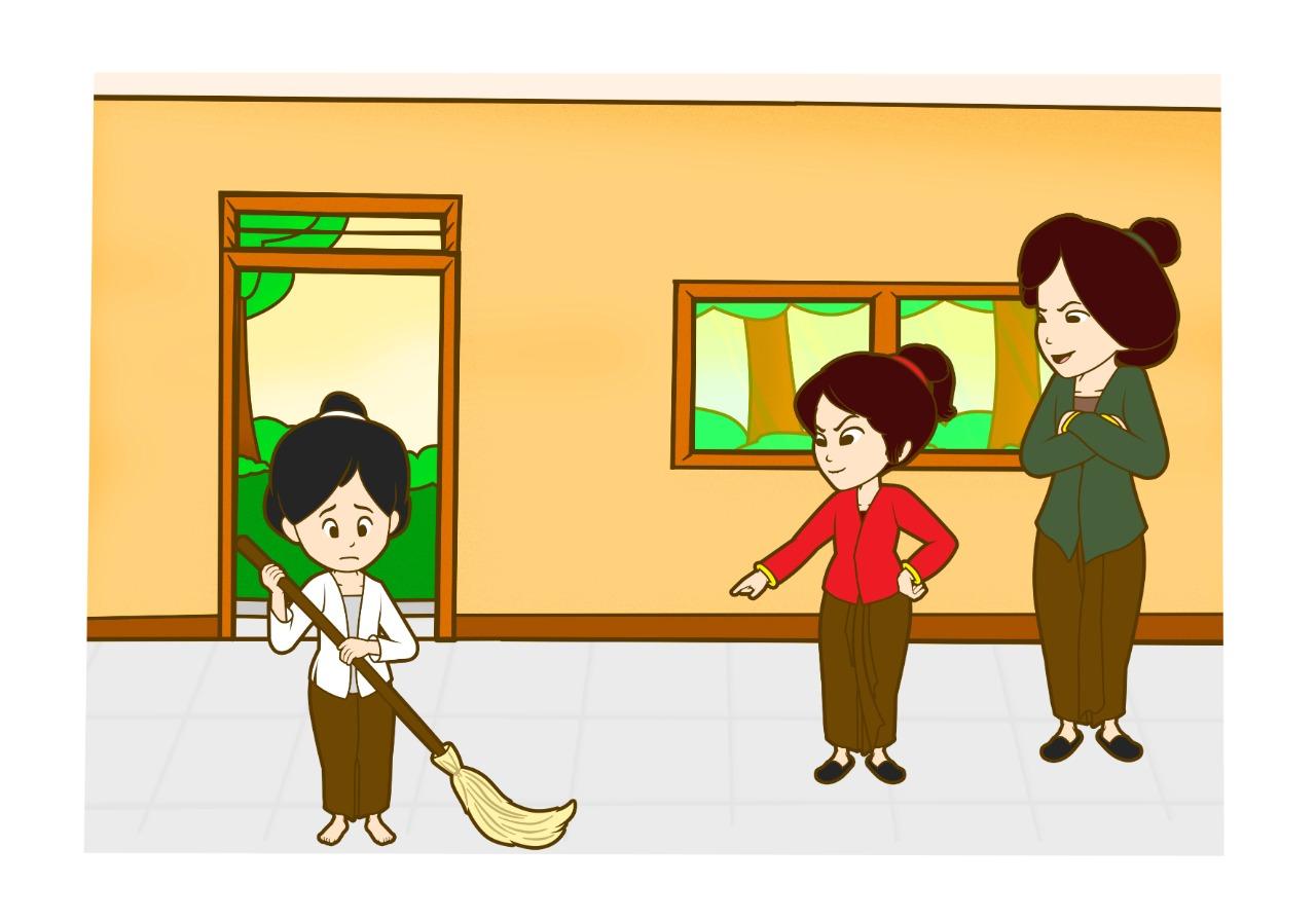 Ilustrasi kisah Bawang Merah dan Bawang Putih   Foto : Pocoyolo