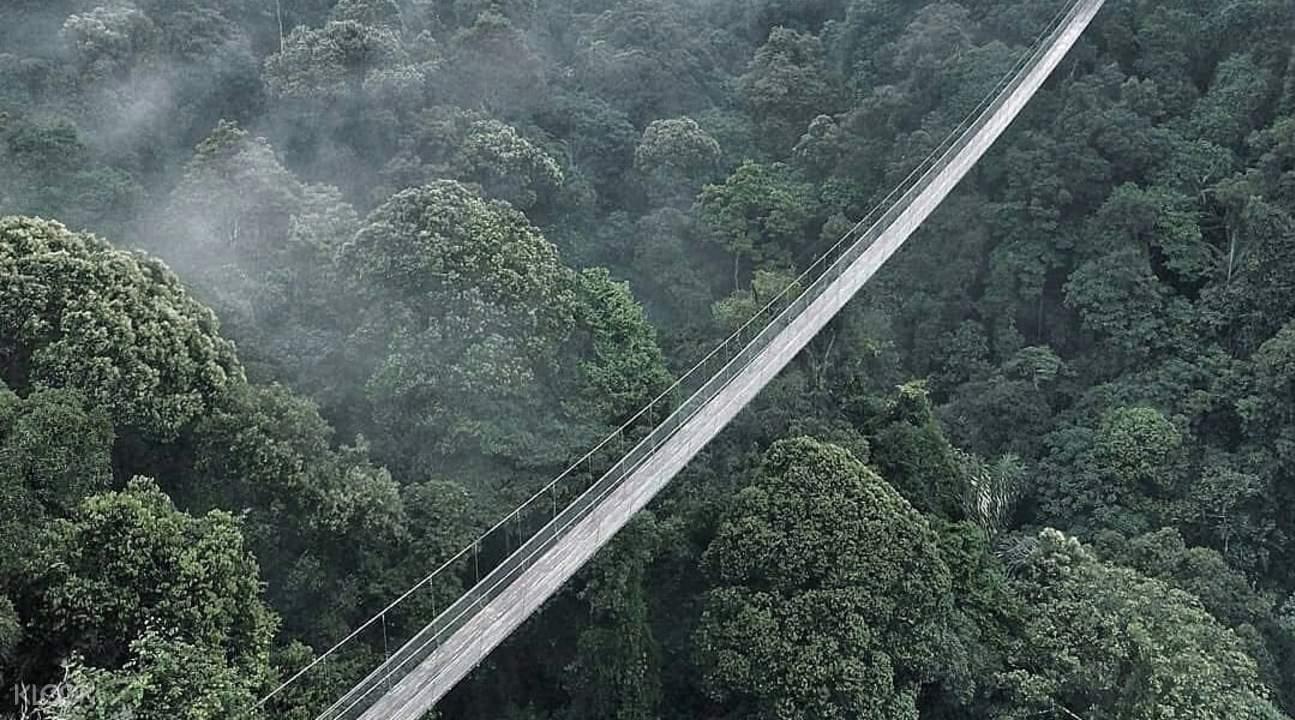 Jembatan Gantung Curug Sawer | Foto : Klook