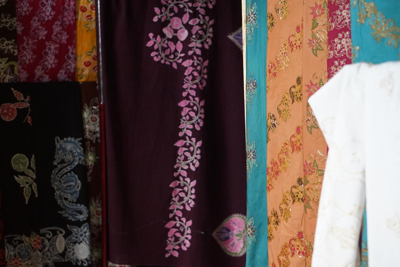 Motif batik Sri Batok Bolu