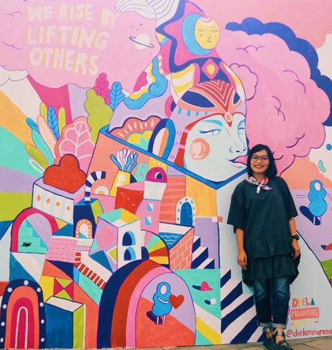 Diela Maharanie - Seniman Muda Indonesia yang Mendunia